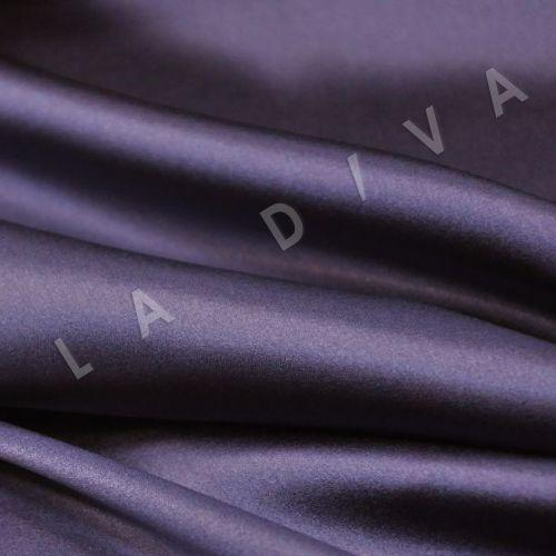 Однотонный шелк темно-ФИОЛЕТОВОГО цвета