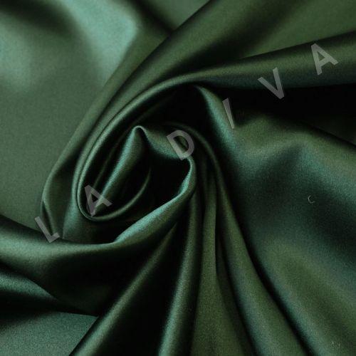 Однотонный шелк зеленого цвета