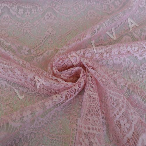 Кружево розового цвета