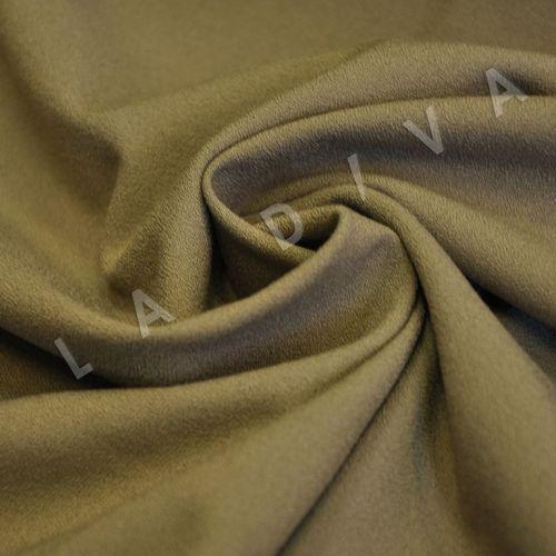Креповая ткань бежевого цвета
