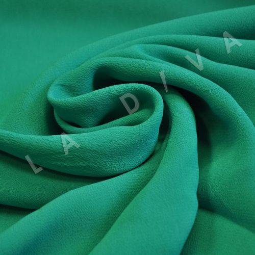 Креповая ткань зеленого цвета