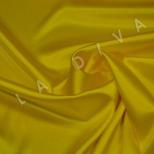 Атласный шелк желтого цвета