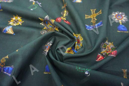 дизайнерский сорочечный хлопок Dolce&Gabbana рис-3
