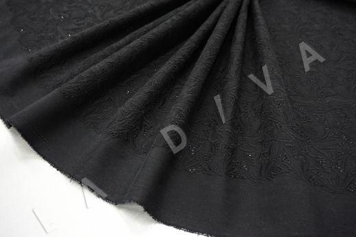 Шитье (прошва) чёрного цвета