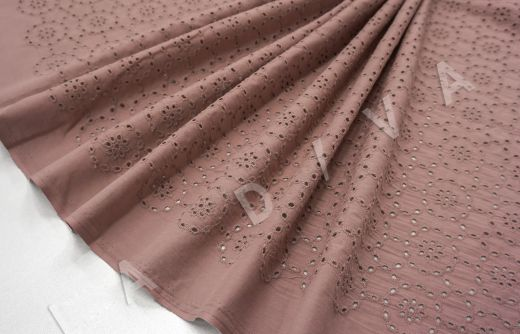 Шитье цвета какао рис-4