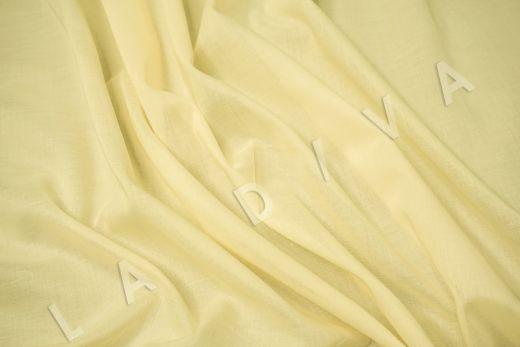 Батист однотонный желтого цвета рис-2