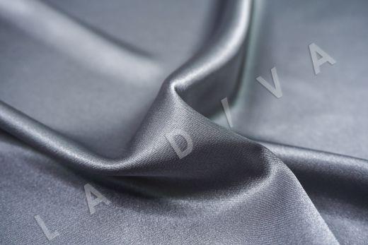 Атлас однотонный серого цвета рис-2