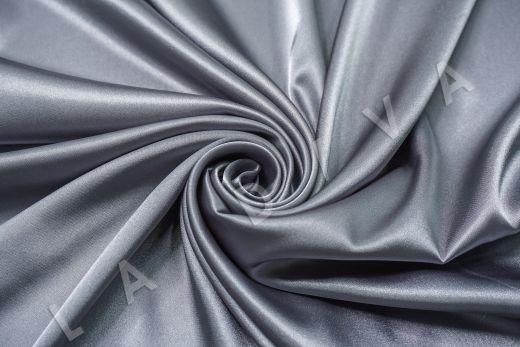 Атлас однотонный серого цвета рис-3