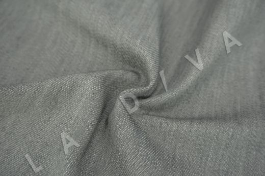 костюмный джинс серого цвета