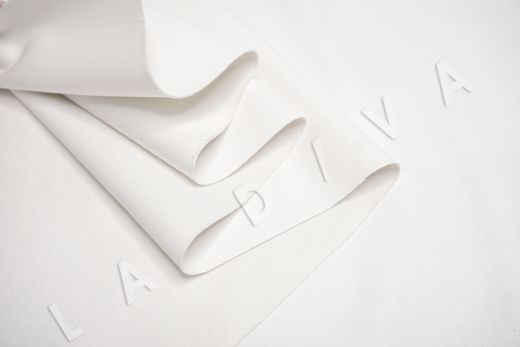 экокожа на трикотажной основе белого цвета рис-4