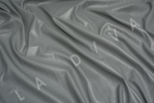 экокожа на трикотажной основе серого цвета рис-3