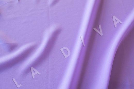 Плательная ткань сиреневого цвета рис-2