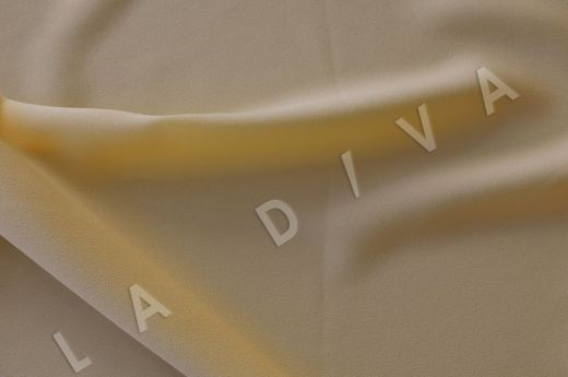 Плательная ткань светло-желтого цвета
