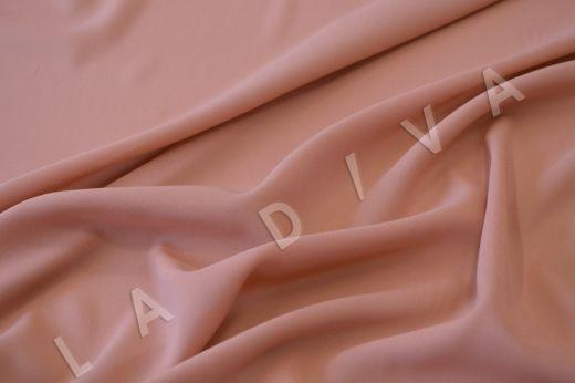 Креповый шелк с эластаном розового цвета рис-2