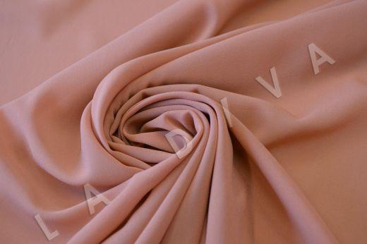 Креповый шелк с эластаном розового цвета