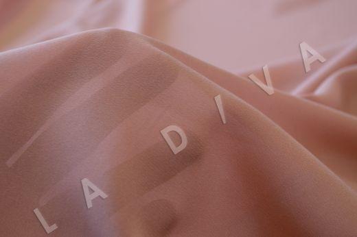 Креповый шелк с эластаном розового цвета рис-3