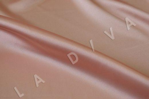 Нежно-розовый однотонный атлас рис-2