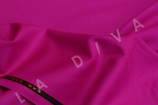 Костюмная шерсть лилового цвета   рис-2
