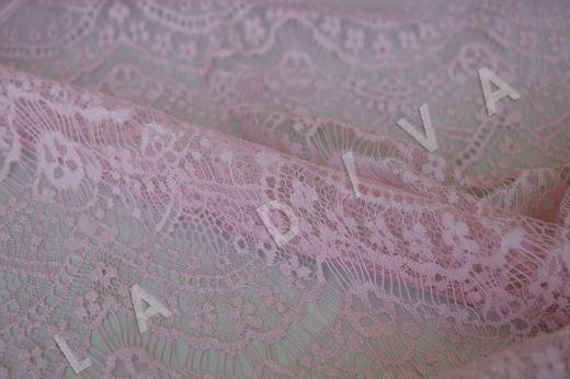 Гипюр розового цвета рис-3