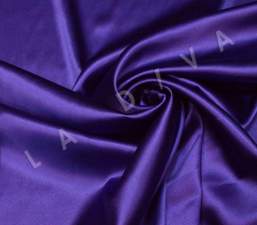 Атласный шелк фиолетового цвета