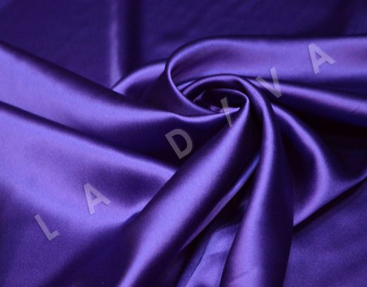Атласный шелк фиолетового цвета рис-2
