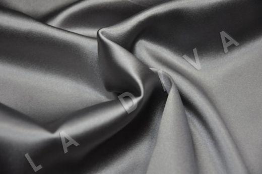 Однотонный шелк серого цвета рис-2