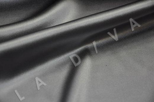 Однотонный шелк серого цвета