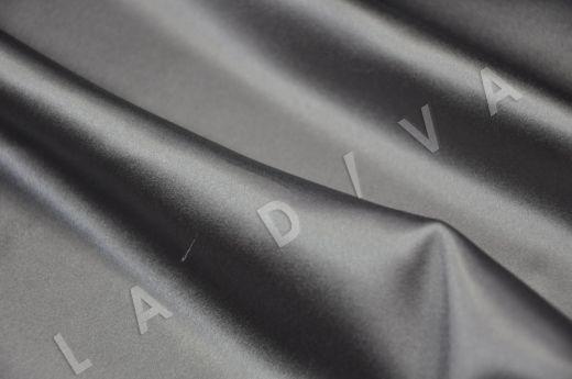 Однотонный шелк серого цвета рис-3