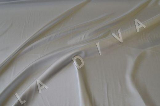 Однотонный атлас белого цвета  рис-2