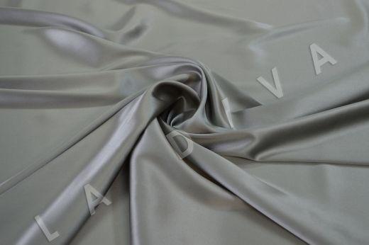 Итальянский шелк серого цвета