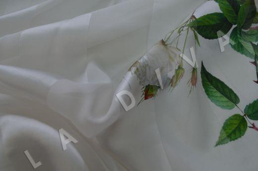 Шелк-деворе с цветочным принтом рис-3