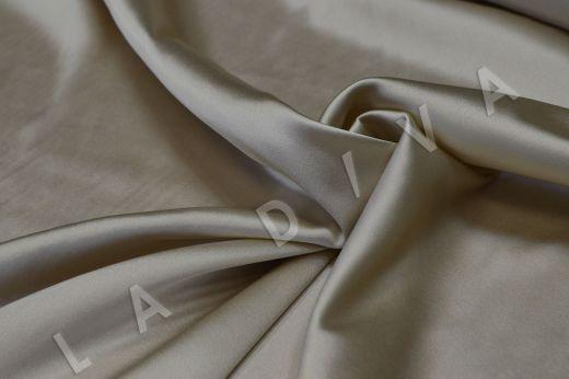 Атласный шелк бежевого цвета рис-2