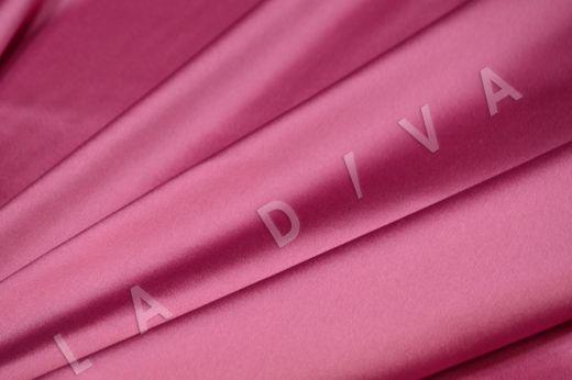 Атласный шелк розового цвета рис-2