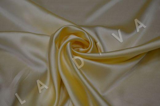 """Атласный шелк  цвета """"Айвори"""""""