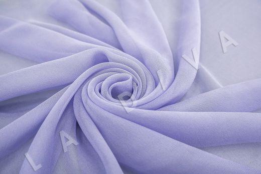 шелковый креповый шифон лавандового цвета рис-2