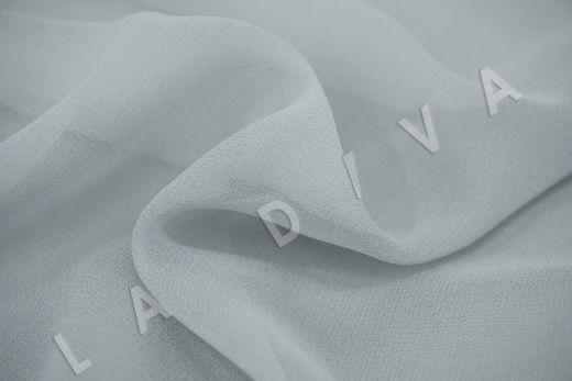 шелковый креповый шифон серого цвета рис-2