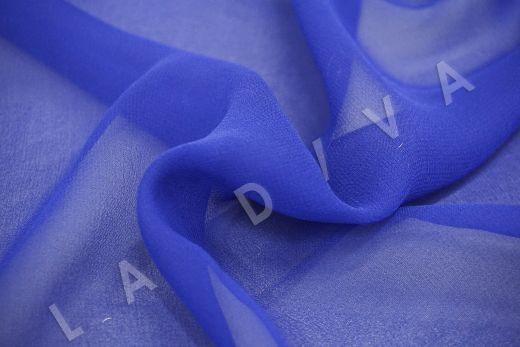шелковый креповый шифон синего цвета рис-3