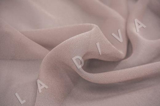 шелковый креповый шифон пудрового цвета рис-3