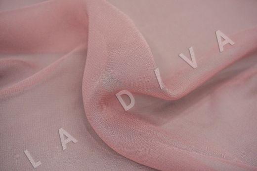 шелковый креповый шифон розового цвета рис-2