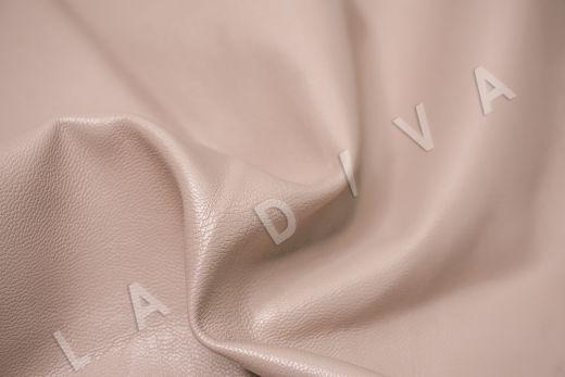 экокожа на костюмной основе цвет пыльная роза рис-2