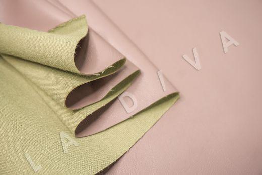 экокожа на костюмной основе цвет пыльная роза рис-4