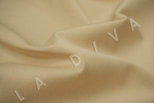 Хлопок сорочечный кремового цвета рис-4