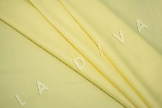 Хлопок сорочечный лимонного цвета рис-4