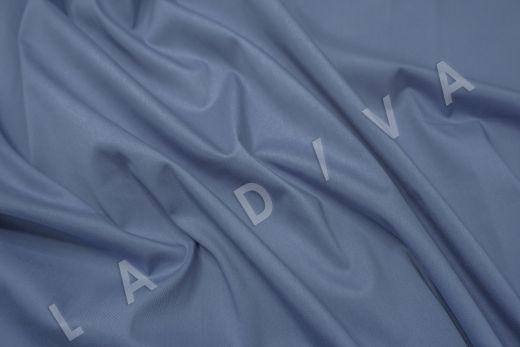 Хлопок сорочечный серо-синего цвета рис-2