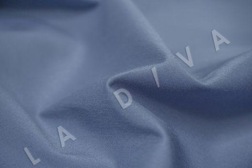 Хлопок сорочечный серо-синего цвета рис-3