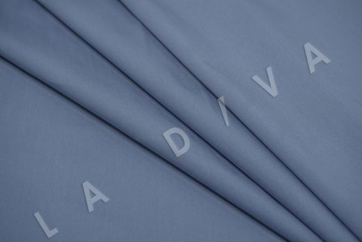 Хлопок сорочечный серо-синего цвета рис-4