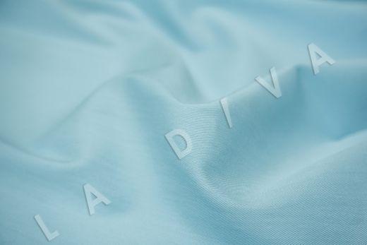 Хлопок сорочечный голубого цвета рис-3