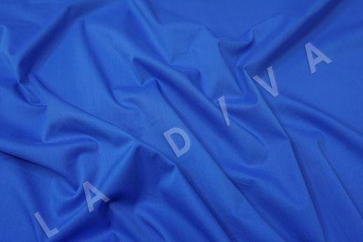 Хлопок сорочечный синего цвета рис-2