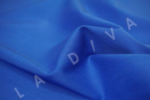 Хлопок сорочечный синего цвета рис-3