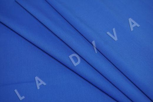 Хлопок сорочечный синего цвета рис-4